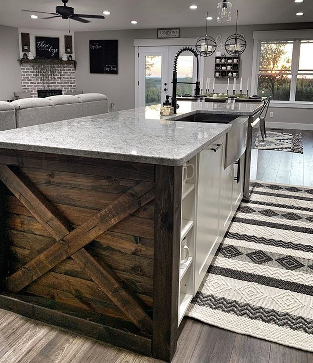 Awesome Rustic Kitchen Design Ideas 12