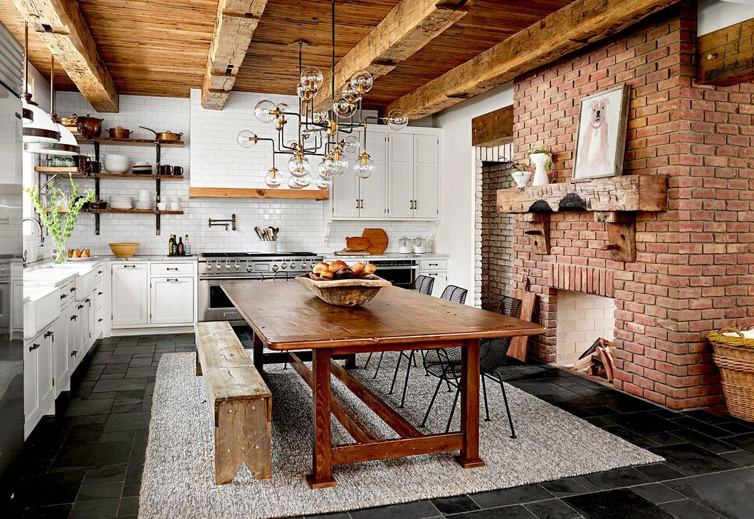 Awesome Rustic Kitchen Design Ideas 15