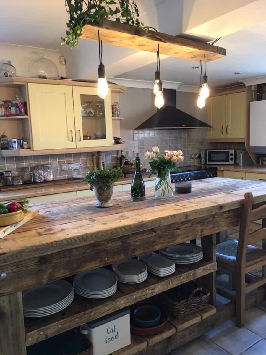 Awesome Rustic Kitchen Design Ideas 19