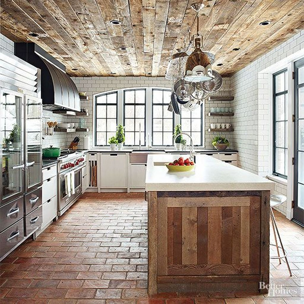 Awesome Rustic Kitchen Design Ideas 20