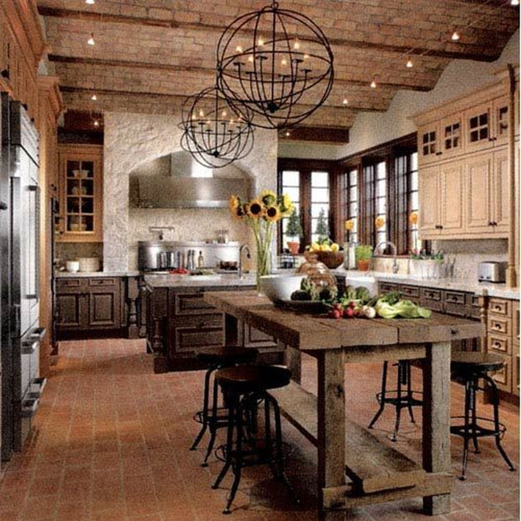 Awesome Rustic Kitchen Design Ideas 25