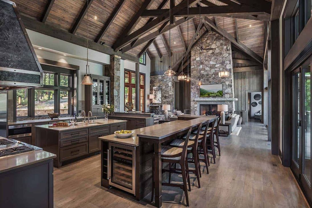 Awesome Rustic Kitchen Design Ideas 39