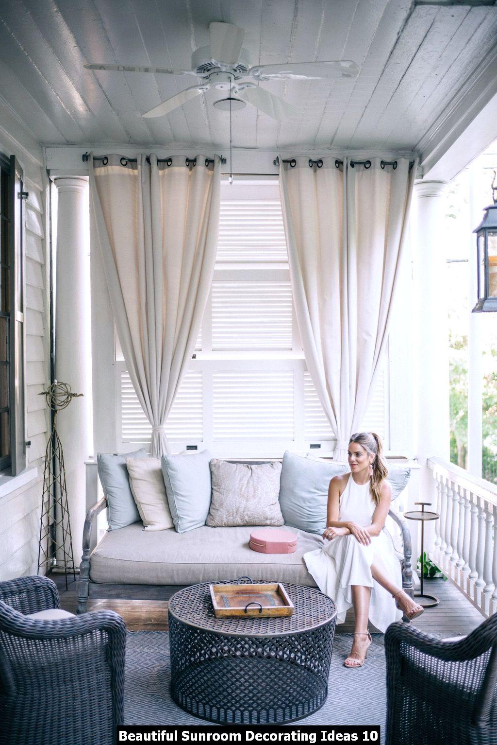 Beautiful Sunroom Decorating Ideas 10