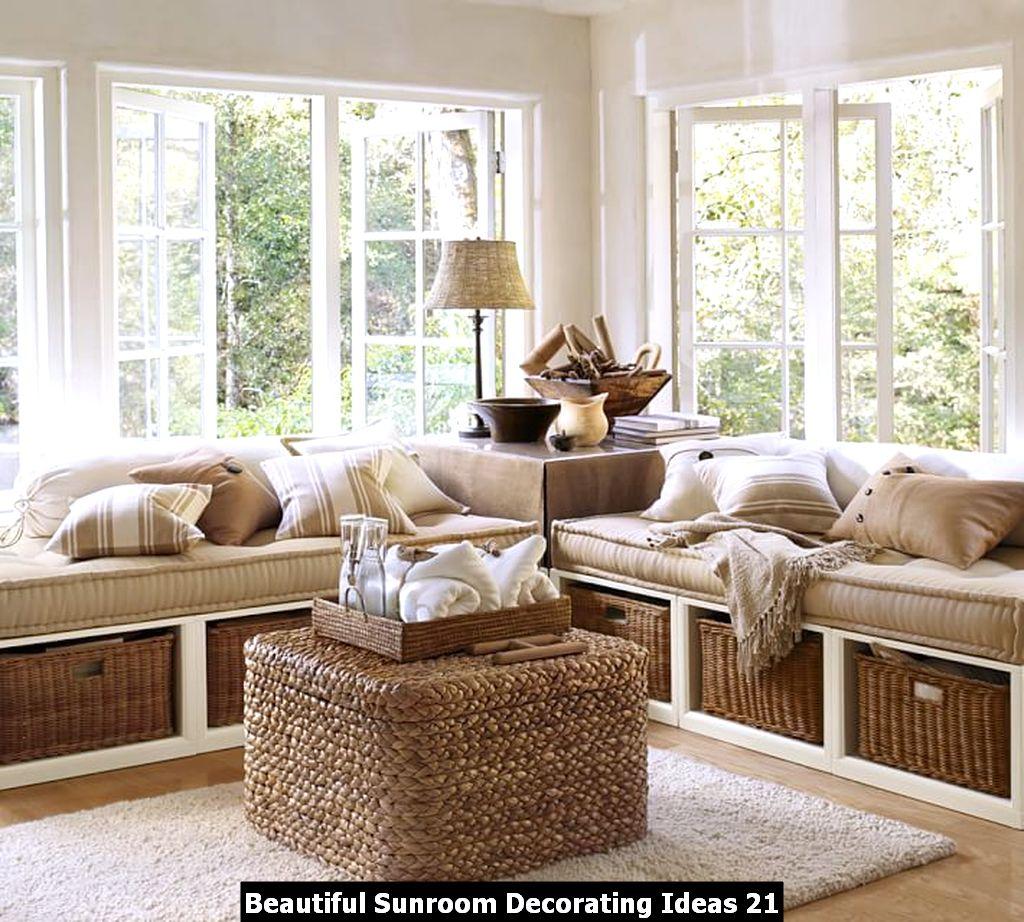 Beautiful Sunroom Decorating Ideas 21