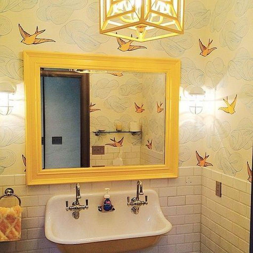 Creative Sunny Yellow Bathroom Decor For Summer 11