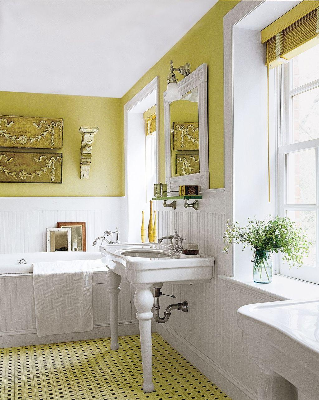 Creative Sunny Yellow Bathroom Decor For Summer 18