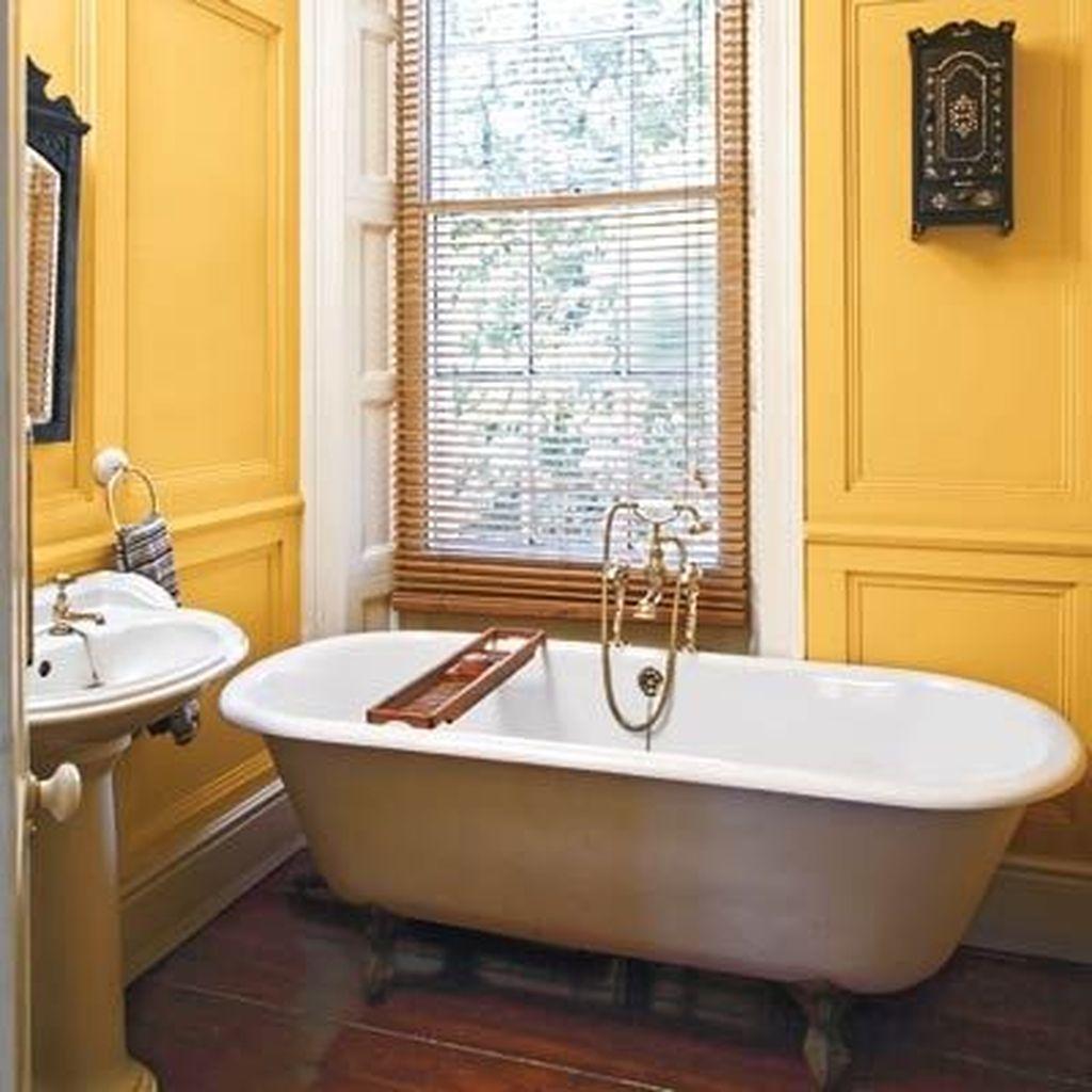 Creative Sunny Yellow Bathroom Decor For Summer 24