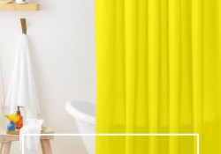 Creative Sunny Yellow Bathroom Decor For Summer