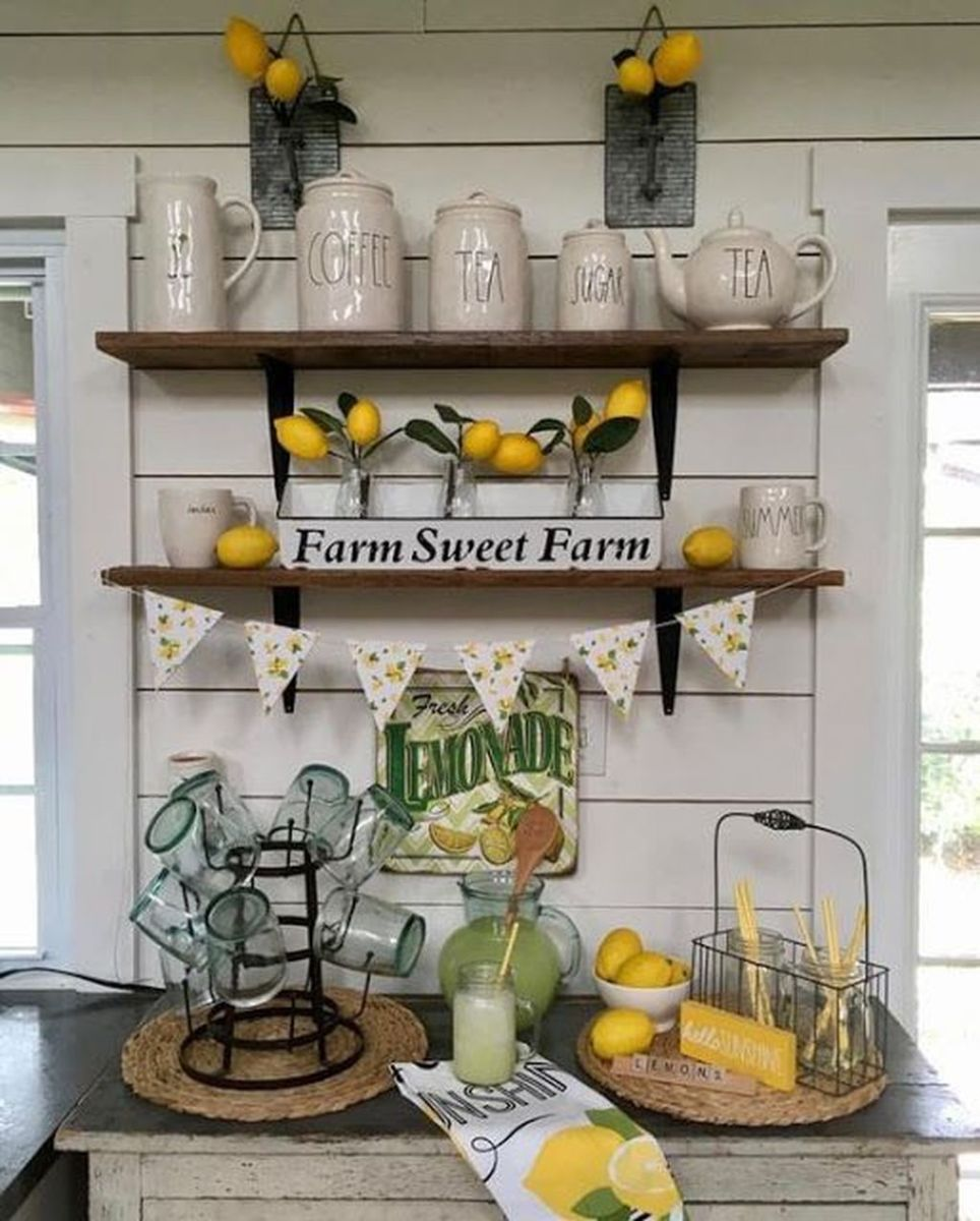 Fabulous Summer Farmhouse Decor Ideas You Will Love 14
