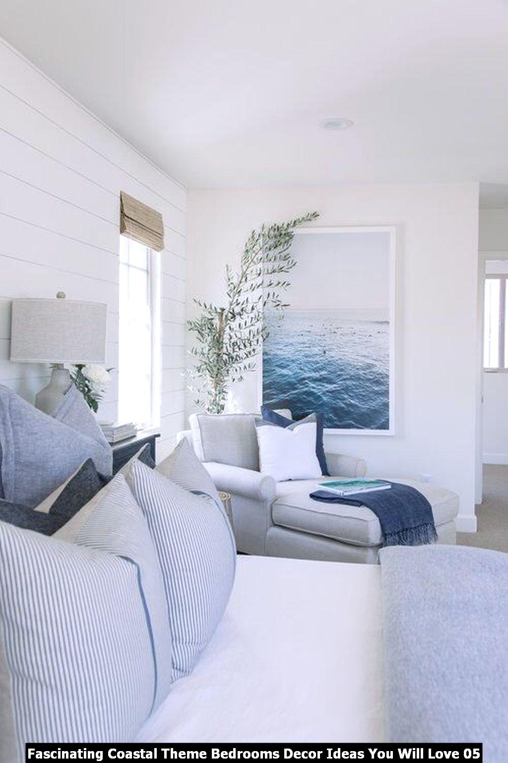 Fascinating Coastal Theme Bedrooms Decor Ideas You Will Love 05