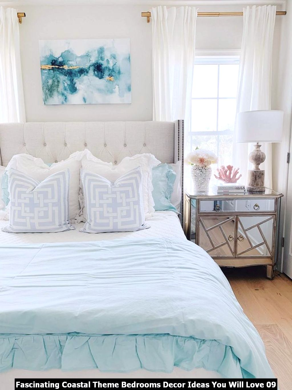 Fascinating Coastal Theme Bedrooms Decor Ideas You Will Love 09