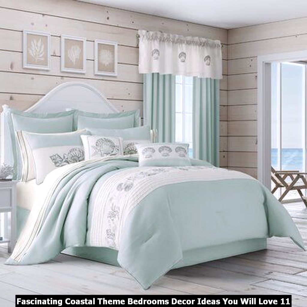 Fascinating Coastal Theme Bedrooms Decor Ideas You Will Love 11