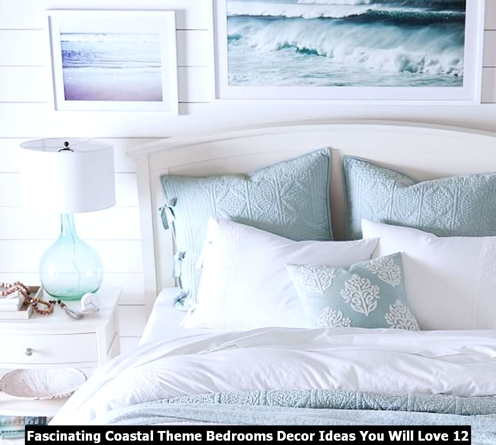 Fascinating Coastal Theme Bedrooms Decor Ideas You Will Love 12