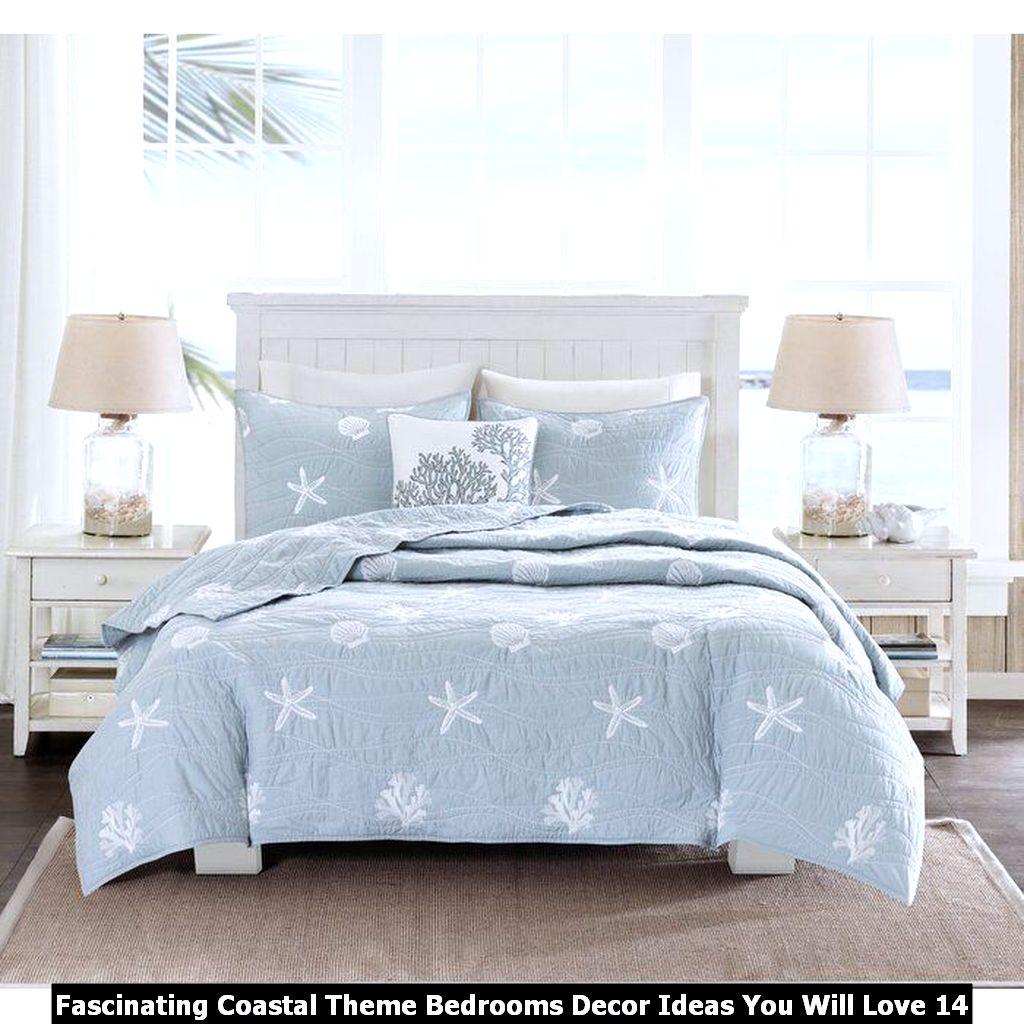 Fascinating Coastal Theme Bedrooms Decor Ideas You Will Love 14