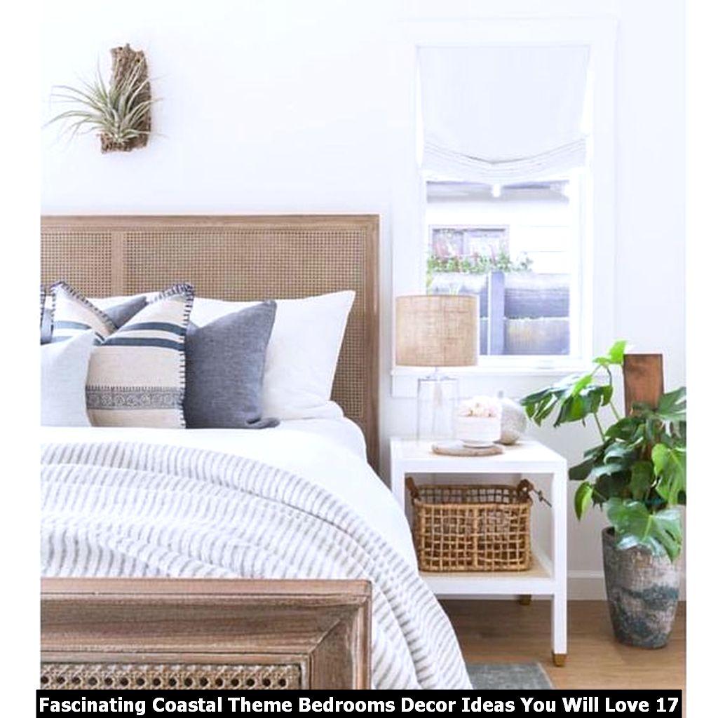 Fascinating Coastal Theme Bedrooms Decor Ideas You Will Love 17