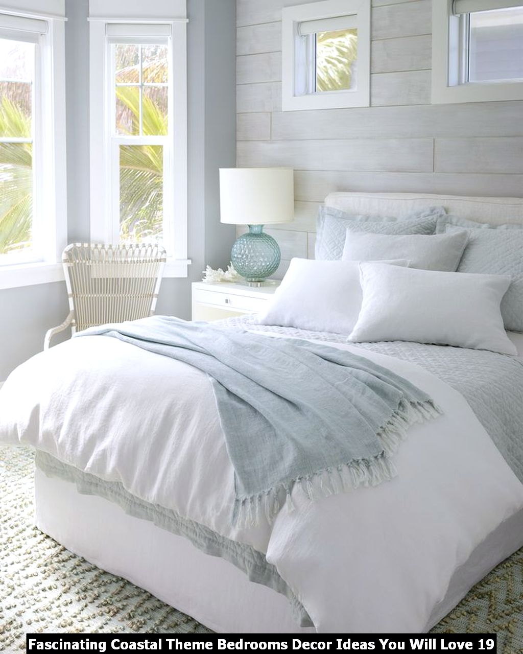 Fascinating Coastal Theme Bedrooms Decor Ideas You Will Love 19