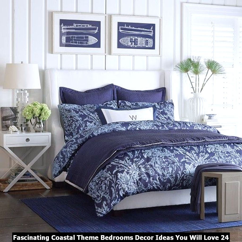 Fascinating Coastal Theme Bedrooms Decor Ideas You Will Love 24