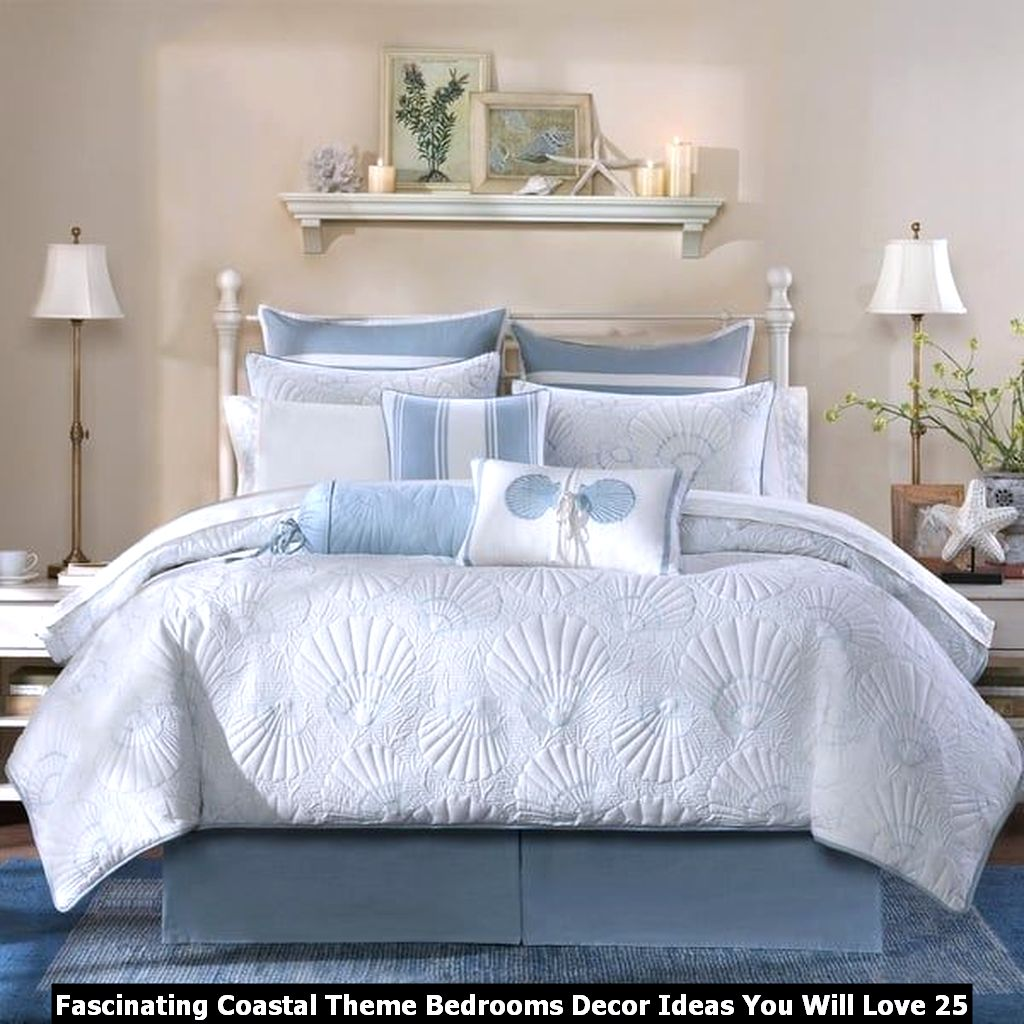 Fascinating Coastal Theme Bedrooms Decor Ideas You Will Love 25