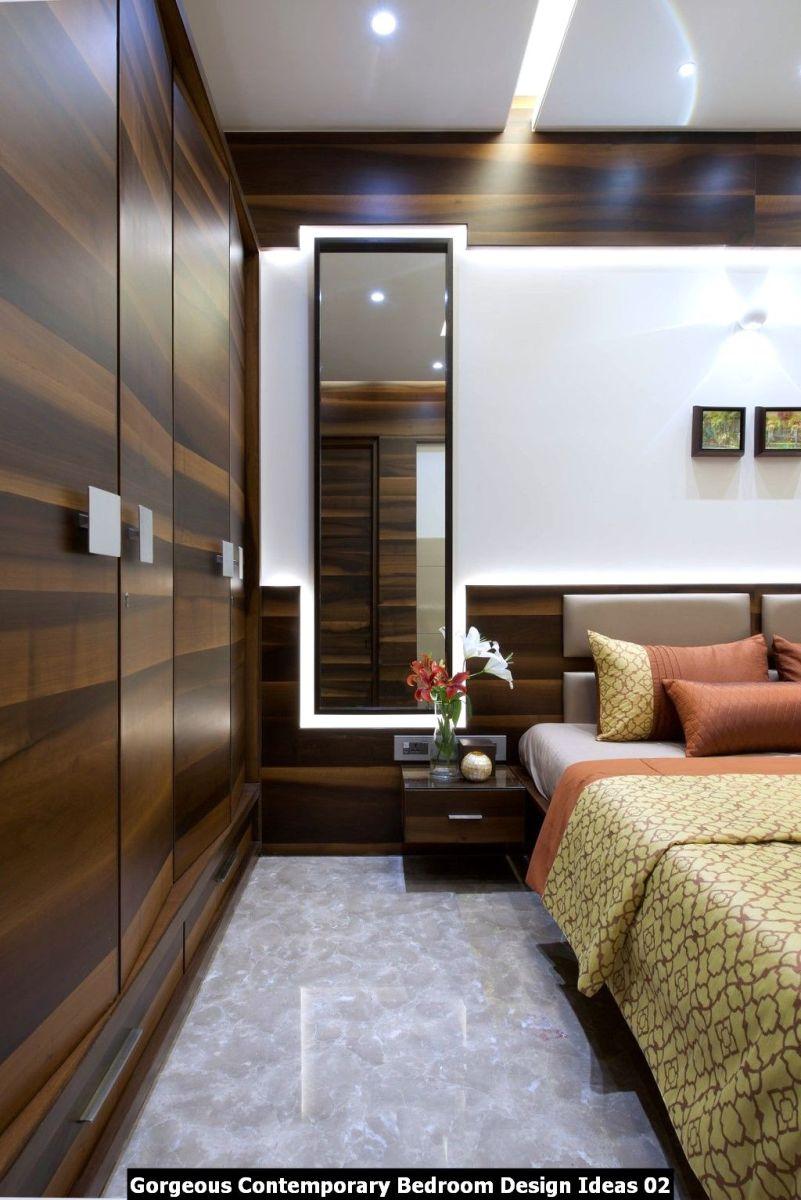 Gorgeous Contemporary Bedroom Design Ideas 02