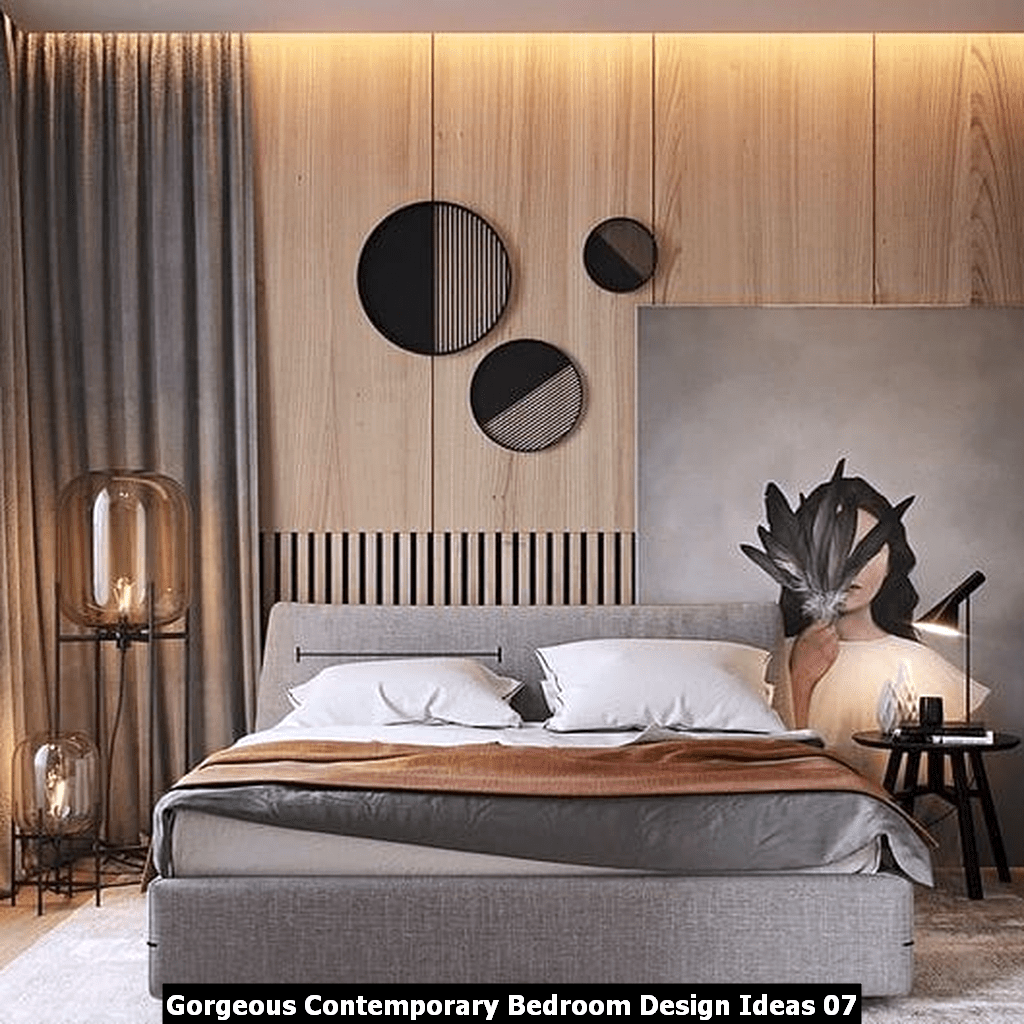 Gorgeous Contemporary Bedroom Design Ideas 07