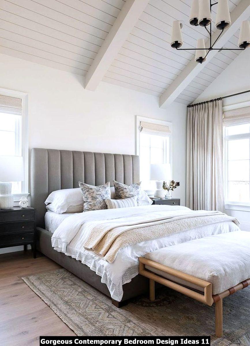 Gorgeous Contemporary Bedroom Design Ideas 11
