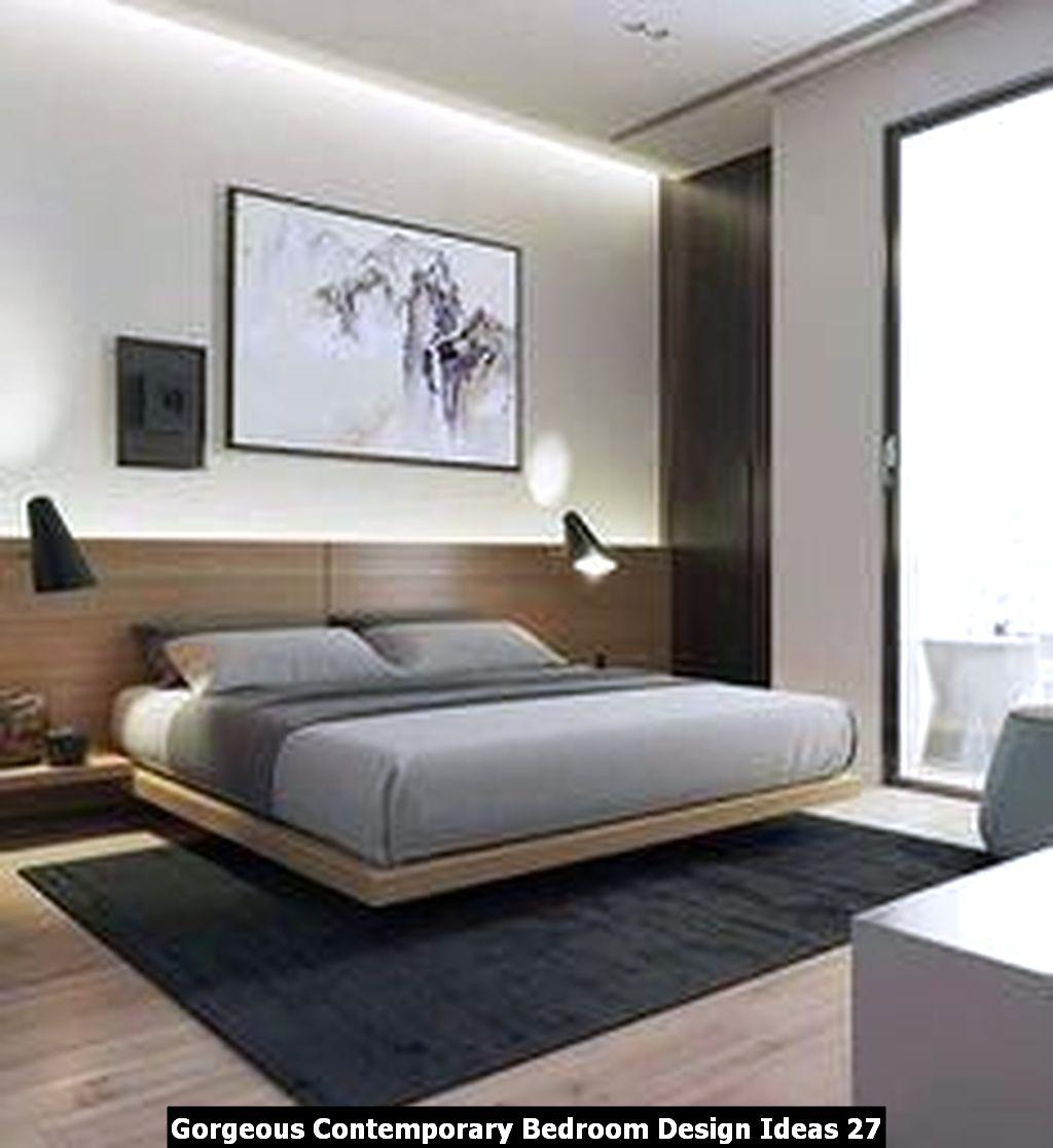 Gorgeous Contemporary Bedroom Design Ideas 27