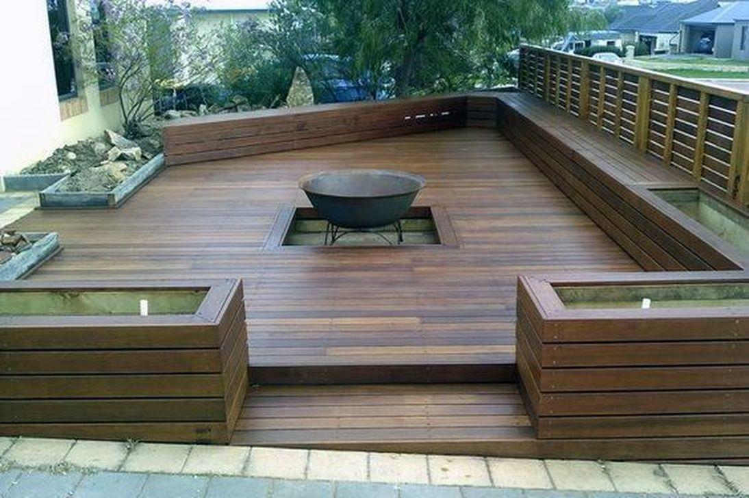Inspiring Wooden Deck Patio Design Ideas For Your Outdoor Decor 04