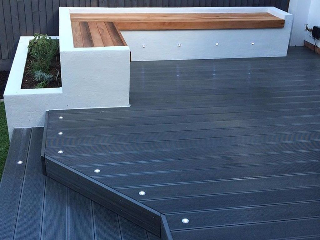 Inspiring Wooden Deck Patio Design Ideas For Your Outdoor Decor 17
