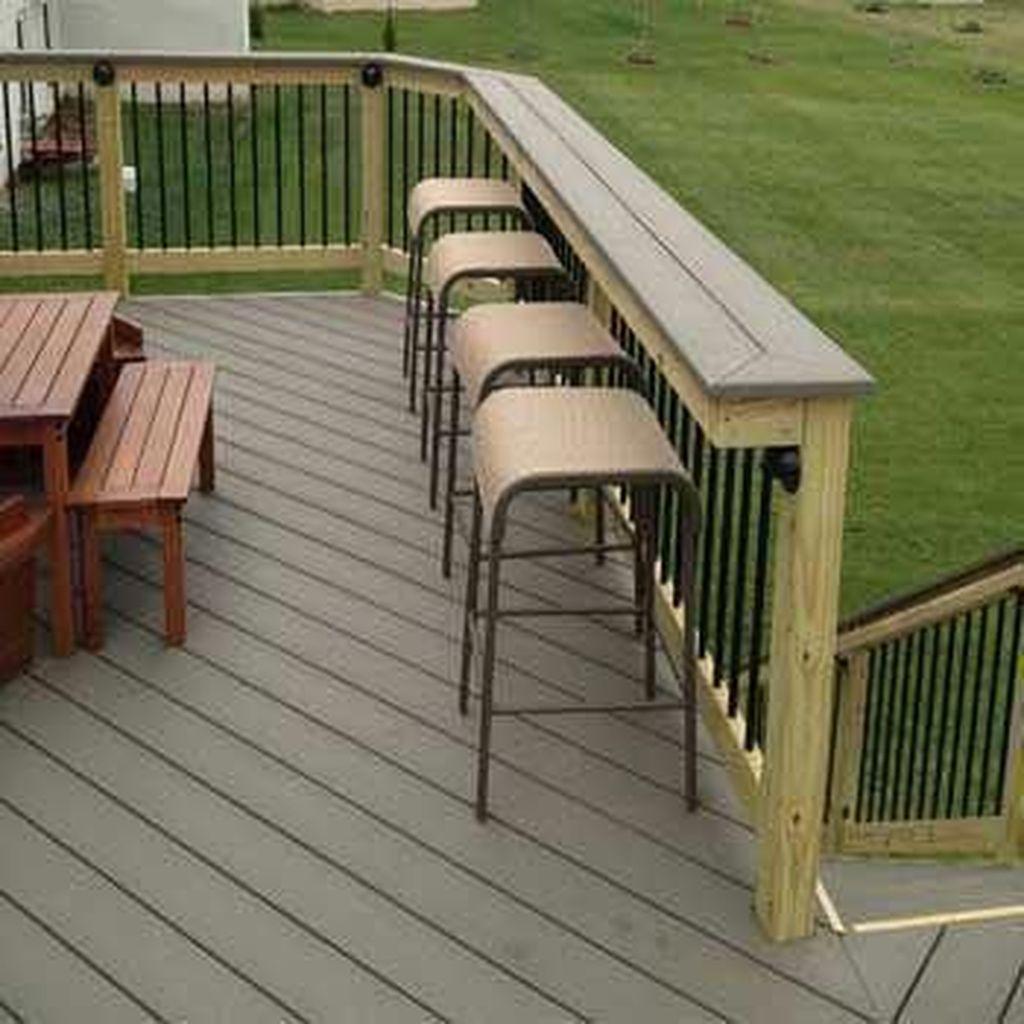 Inspiring Wooden Deck Patio Design Ideas For Your Outdoor Decor 22