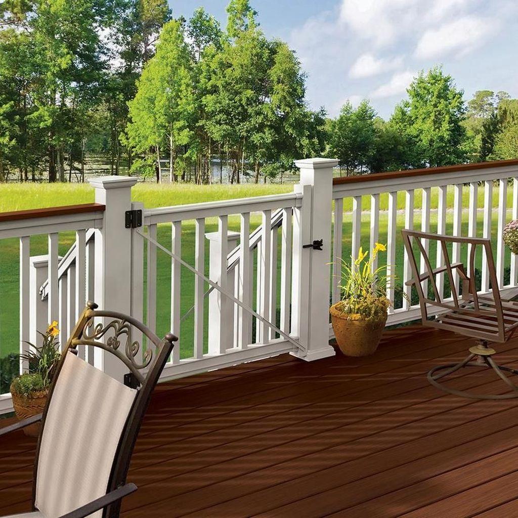 Inspiring Wooden Deck Patio Design Ideas For Your Outdoor Decor 31