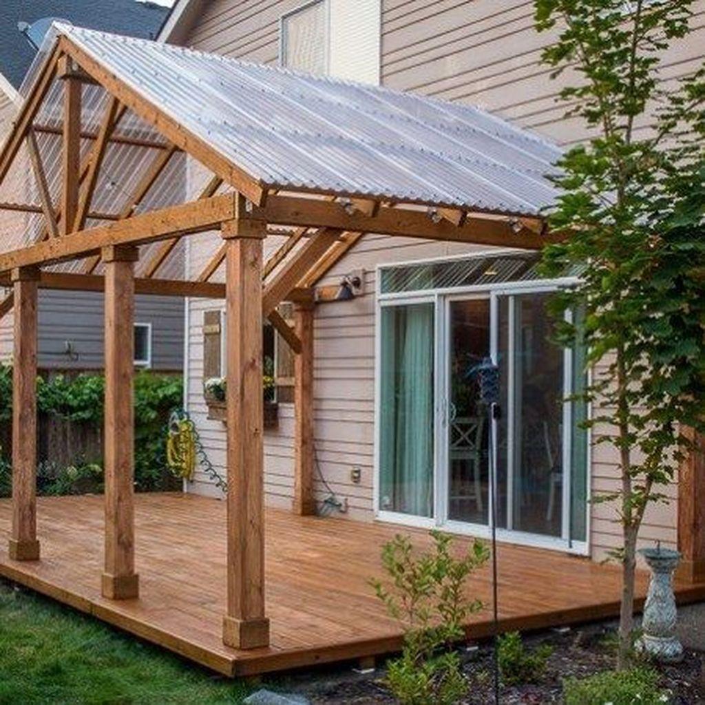 Inspiring Wooden Deck Patio Design Ideas For Your Outdoor Decor 33