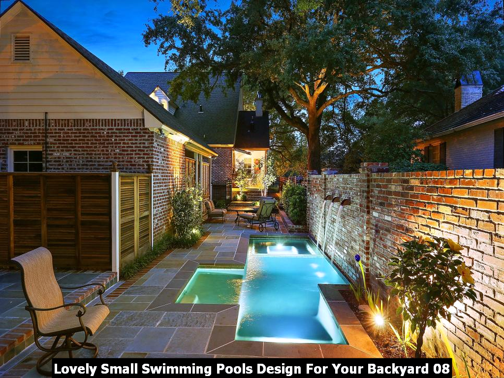 Lovely Small Swimming Pools Design For Your Backyard 08