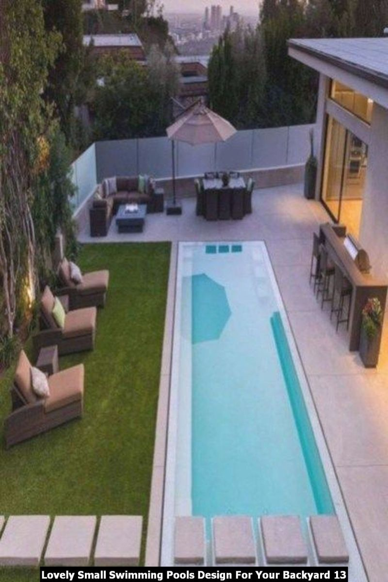 Lovely Small Swimming Pools Design For Your Backyard 13