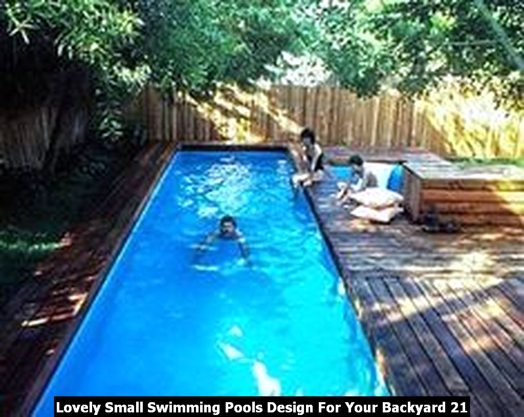 Lovely Small Swimming Pools Design For Your Backyard 21