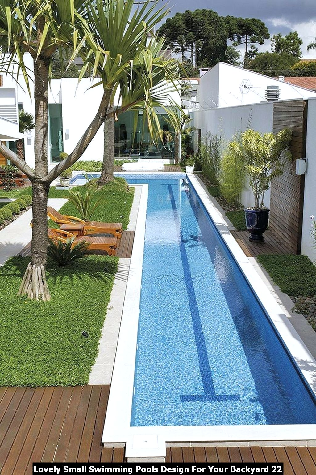 Lovely Small Swimming Pools Design For Your Backyard 22