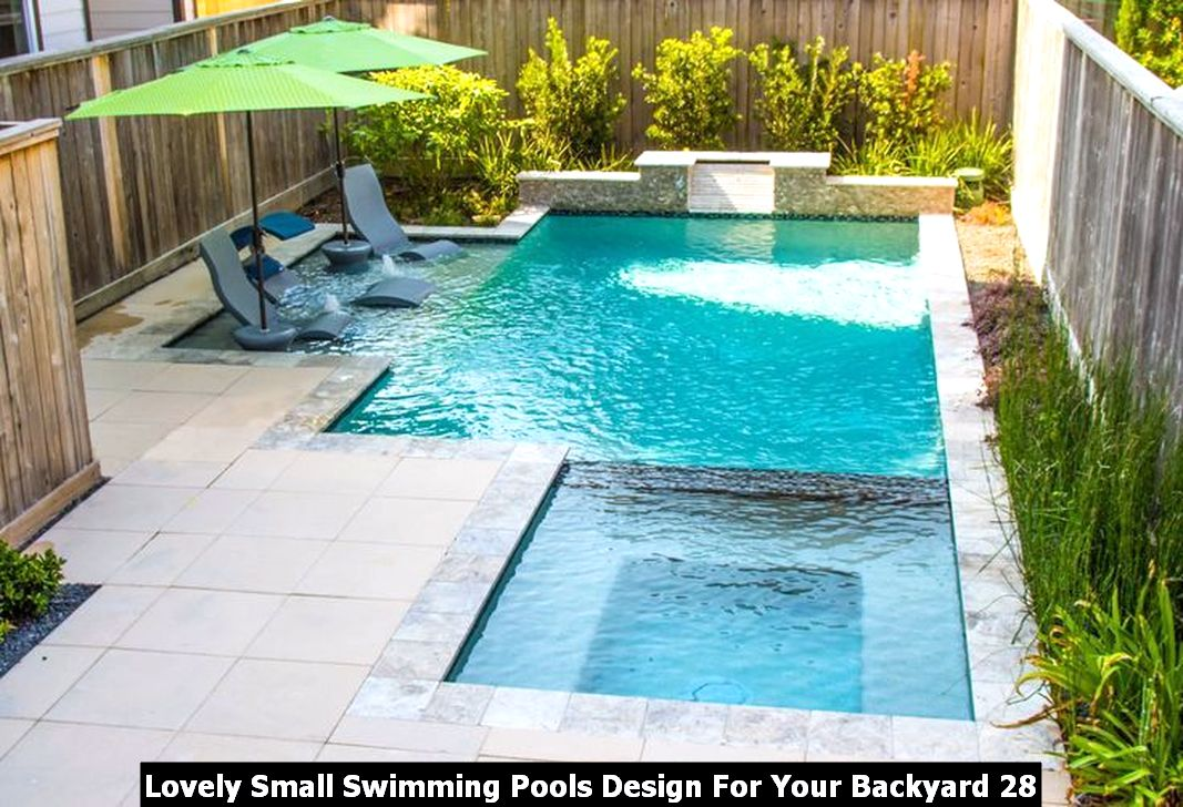 Lovely Small Swimming Pools Design For Your Backyard 28