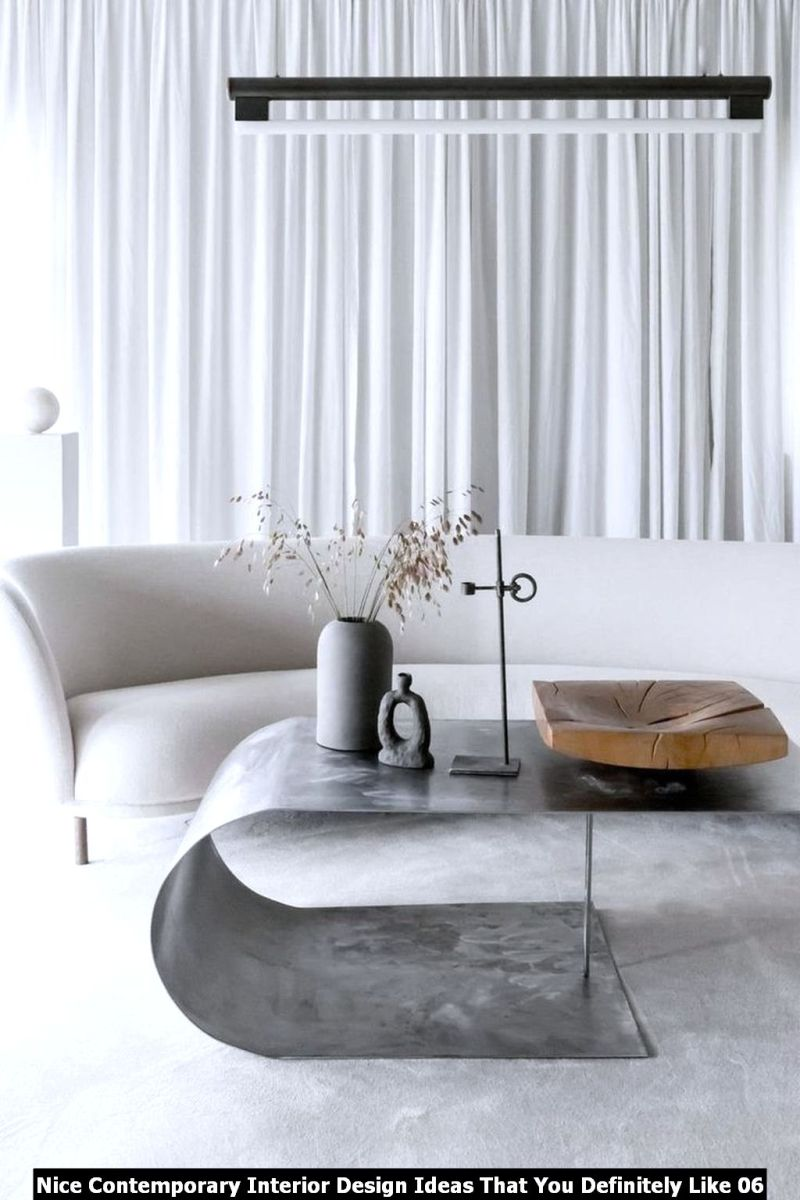 Nice Contemporary Interior Design Ideas That You Definitely Like 06