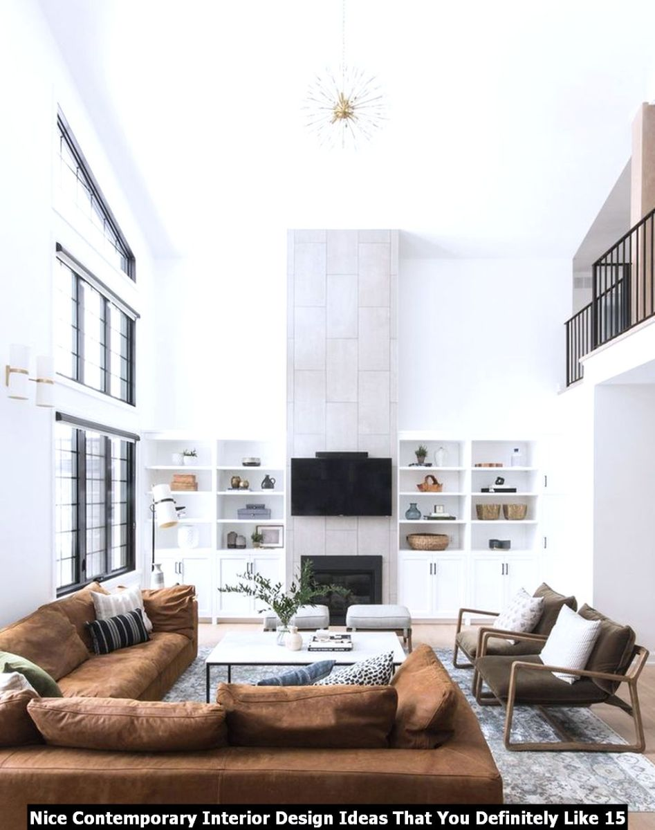 Nice Contemporary Interior Design Ideas That You Definitely Like 15