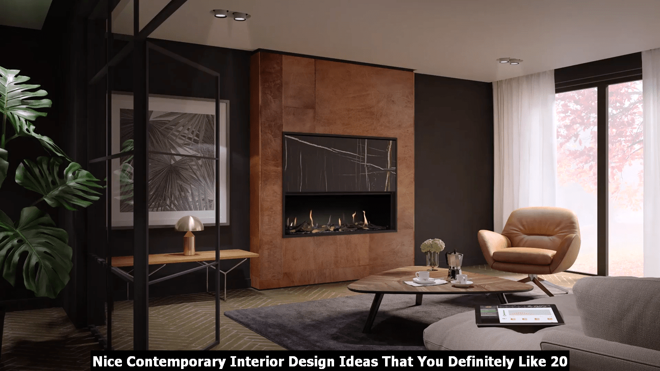 Nice Contemporary Interior Design Ideas That You Definitely Like 20