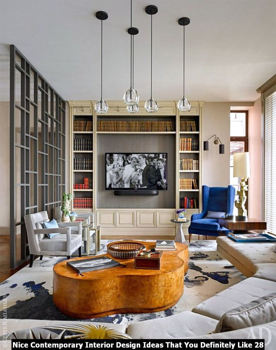Nice Contemporary Interior Design Ideas That You Definitely Like 28