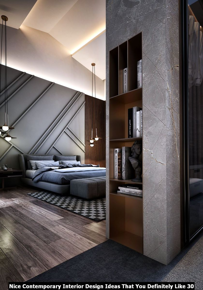 Nice Contemporary Interior Design Ideas That You Definitely Like 30