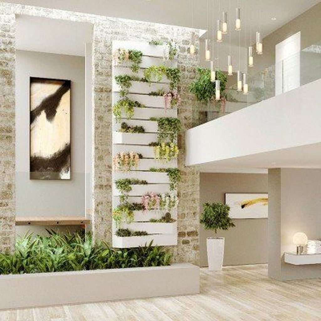 Nice Vertical Garden Wall Decor Ideas Look Beautiful 05