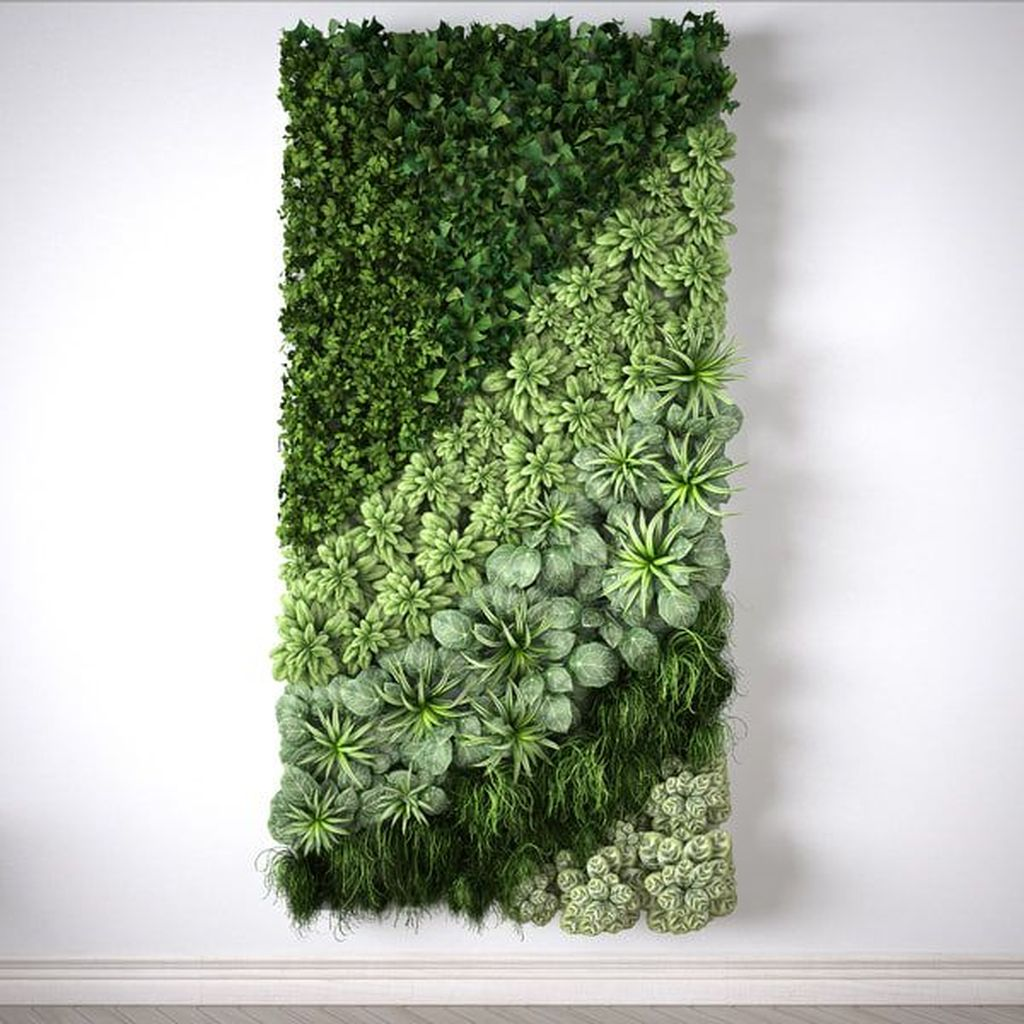 Nice Vertical Garden Wall Decor Ideas Look Beautiful 18