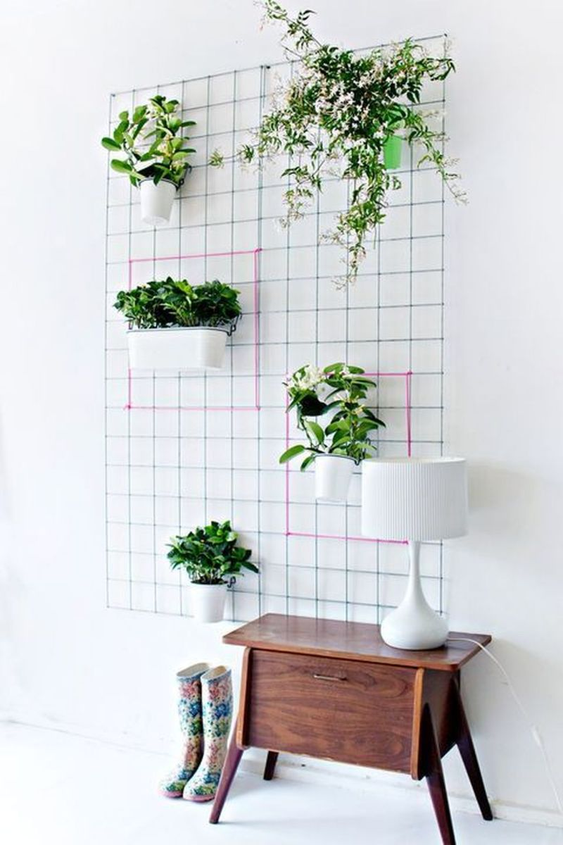 Nice Vertical Garden Wall Decor Ideas Look Beautiful 25