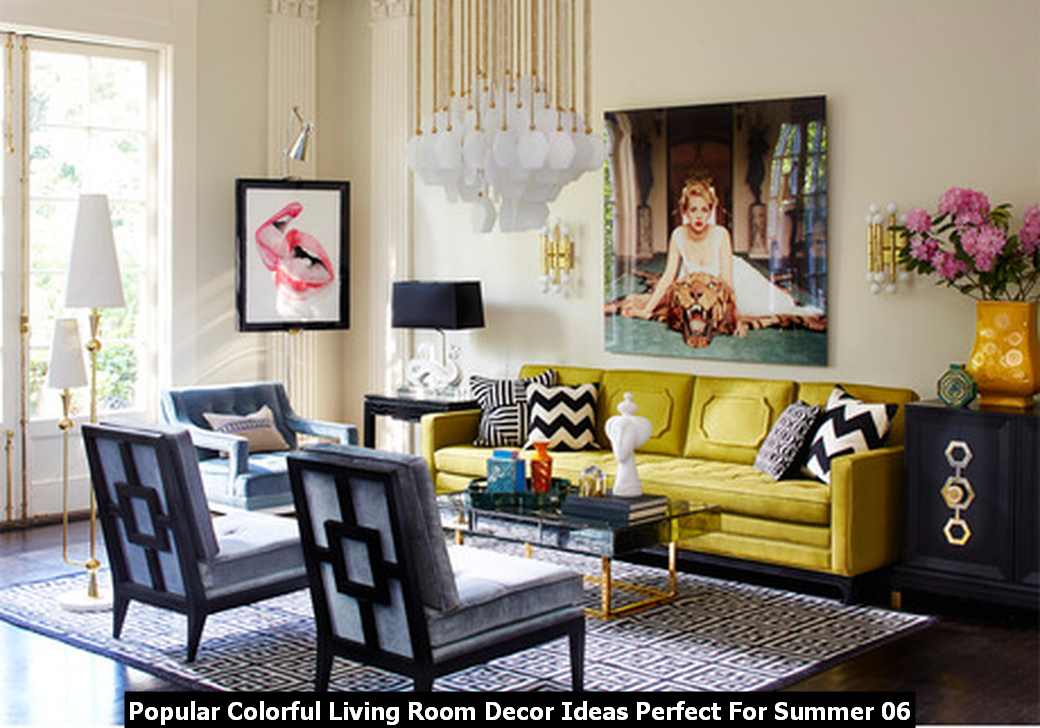 Popular Colorful Living Room Decor Ideas Perfect For Summer 06