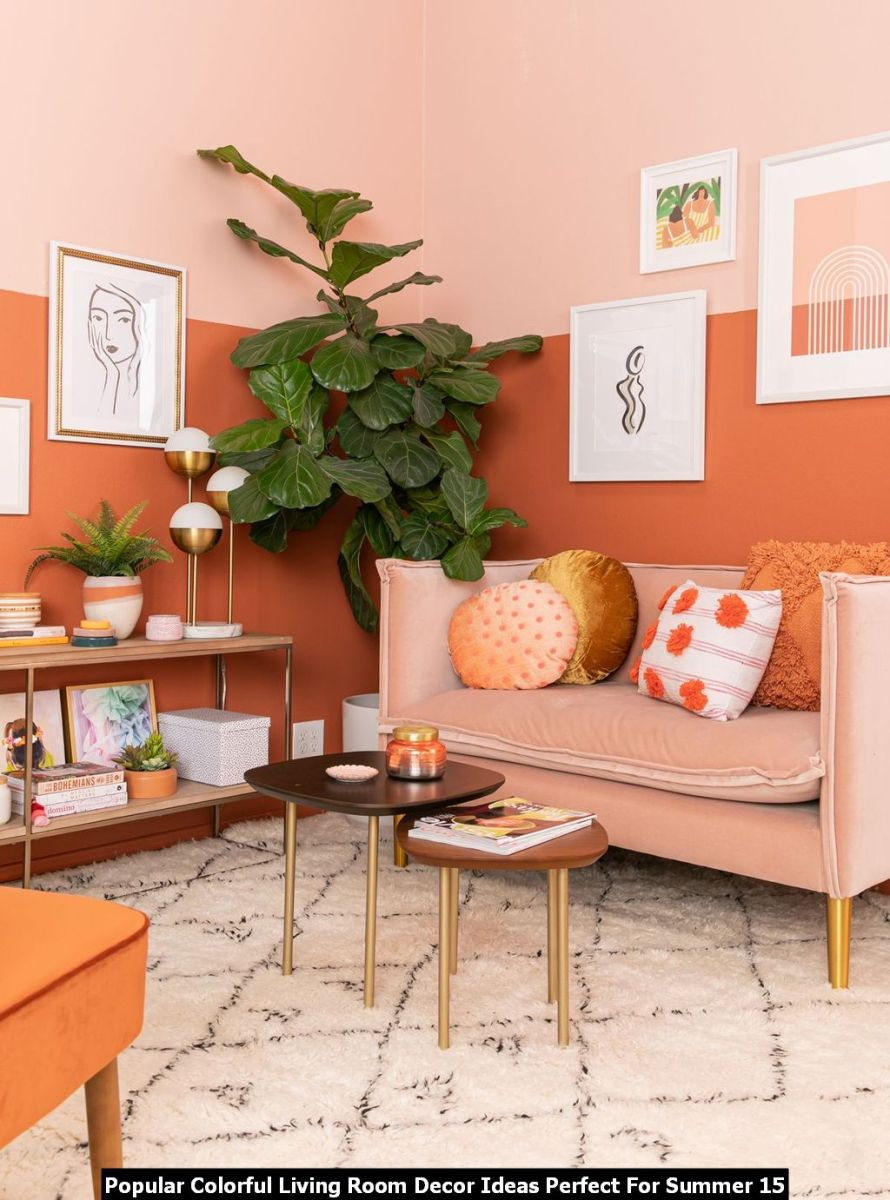 Popular Colorful Living Room Decor Ideas Perfect For Summer 15