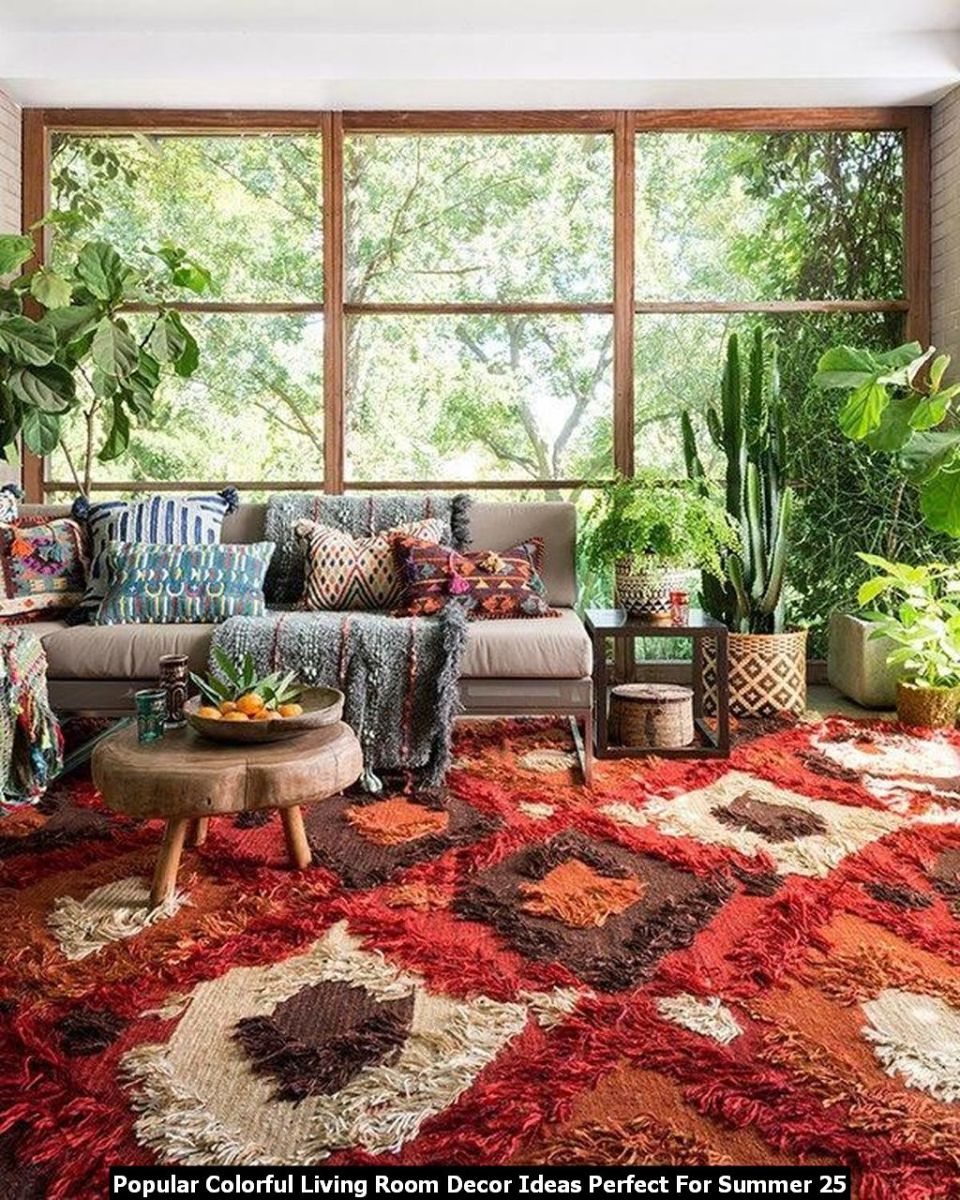 Popular Colorful Living Room Decor Ideas Perfect For Summer 25