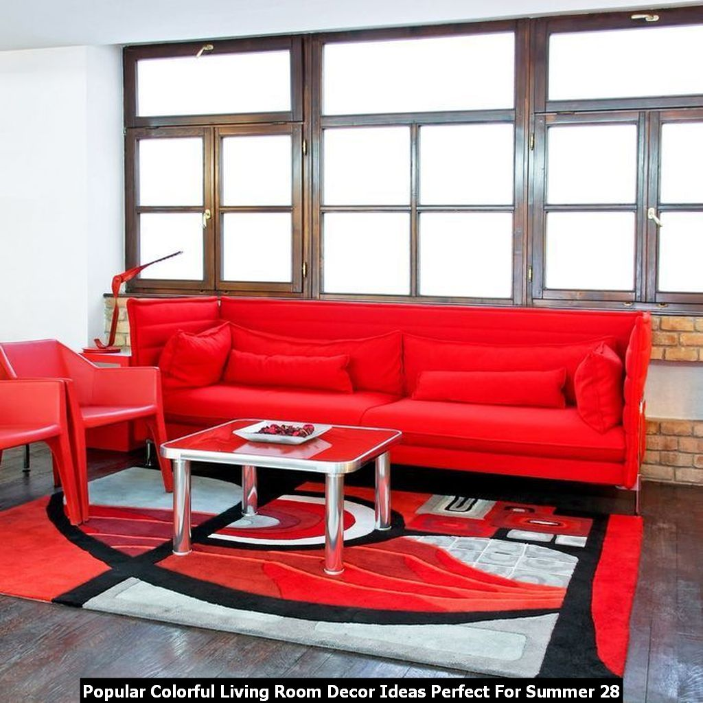 Popular Colorful Living Room Decor Ideas Perfect For Summer 28