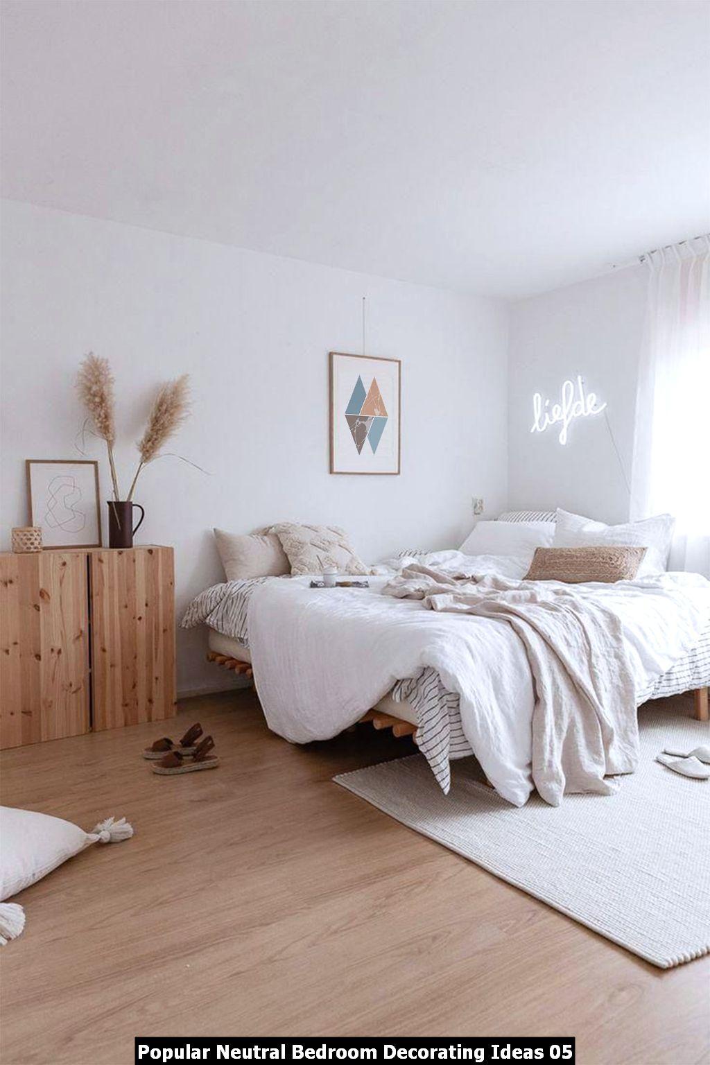 Popular Neutral Bedroom Decorating Ideas 05