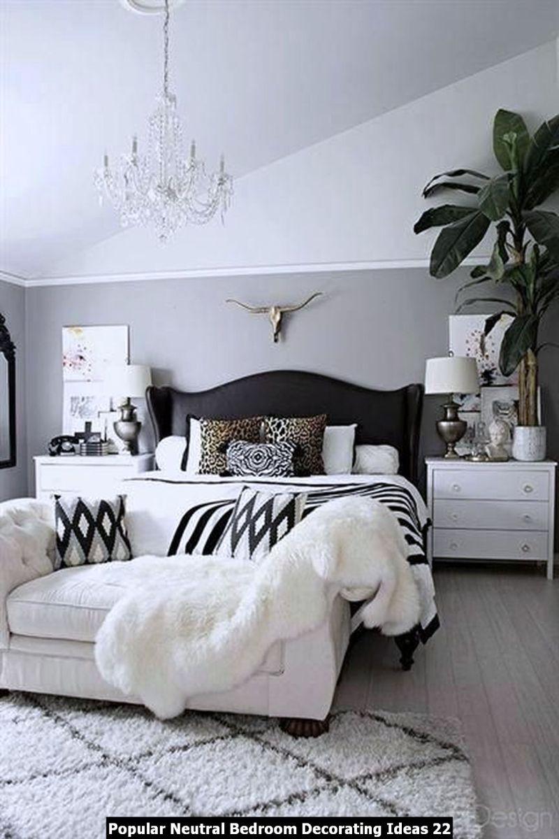 Popular Neutral Bedroom Decorating Ideas 22